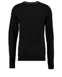 Jersey con cuello circular negro de YOURTURN