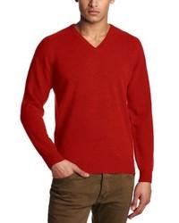 Jersey con cuello circular rojo de Al Andalus