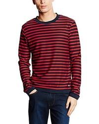 Jersey con cuello circular rojo de Esprit