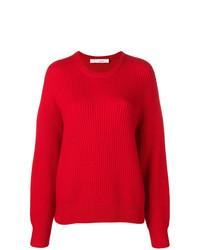 Jersey con cuello circular rojo de IRO