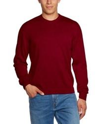 Jersey con cuello circular rojo de Maerz