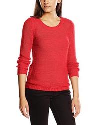Jersey con cuello circular rojo de Only