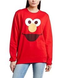 Jersey con cuello circular rojo de Sesame Street