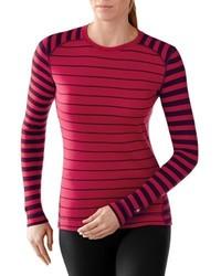 Jersey con cuello circular rojo de Smartwool