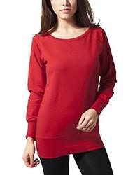 Jersey con Cuello Circular Rojo de Urban Classics