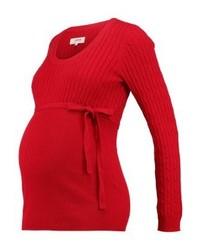 Jersey con cuello circular rojo de Zalando Essentials
