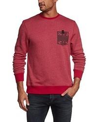 Jersey con cuello circular rosa de Hurley