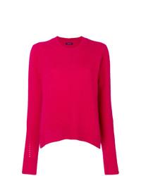 Jersey con cuello circular rosa de Isabel Marant