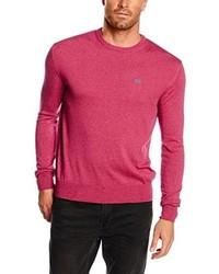 Jersey con cuello circular rosa de La Martina