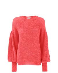 Jersey con cuello circular rosa de Laneus