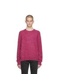 Jersey con cuello circular rosa de Rag and Bone