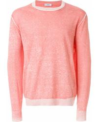Jersey con cuello circular rosado de Closed