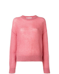 Jersey con cuello circular rosado de IRO