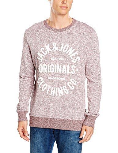 Jersey con cuello circular rosado de Jack & Jones