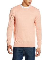 Jersey con cuello circular rosado de JACK & JONES PREMIUM