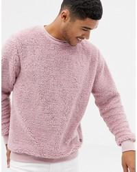 Jersey con cuello circular rosado de Soul Star