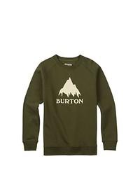Jersey con cuello circular verde oliva de Burton