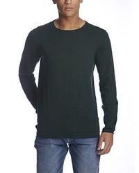 Jersey con cuello circular verde oscuro de Bench