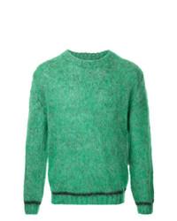 Jersey con cuello circular verde de 08sircus