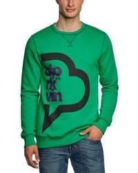 Jersey con cuello circular verde de Björkvin