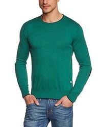 Jersey con cuello circular verde de C.P.M.