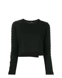 Jersey corto con adornos negro de 3.1 Phillip Lim