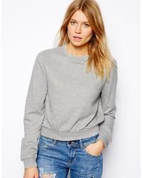 Jersey corto gris de Asos