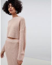 Jersey corto rosado de ASOS DESIGN