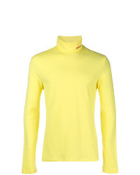 Jersey de cuello alto amarillo