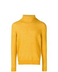Jersey de cuello alto amarillo de Roberto Collina