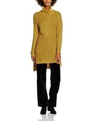 Jersey de cuello alto amarillo de Vero Moda