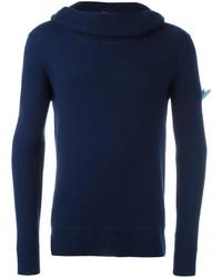 Jersey de Cuello Alto Azul Marino de Cruciani