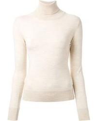 Jersey de cuello alto beige original 2565753