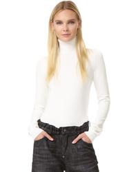Jersey de cuello alto blanco de Dsquared2
