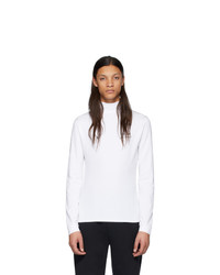 Jersey de cuello alto blanco de Vetements