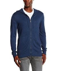 Jersey de cuello alto con cremallera azul marino de Calvin Klein