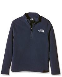 Jersey de cuello alto con cremallera azul marino de The North Face