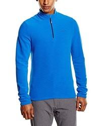 Jersey de cuello alto con cremallera azul de Odlo