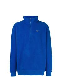 Jersey de cuello alto con cremallera azul de Tommy Jeans