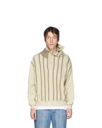 Jersey de cuello alto con cremallera en beige de Y/Project