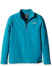 Jersey de cuello alto con cremallera en verde azulado de The North Face