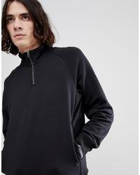 Jersey de cuello alto con cremallera negro de Nike SB