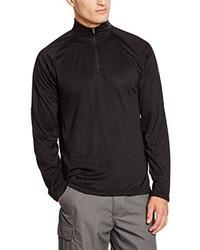 Jersey de cuello alto con cremallera negro de Northland Professional
