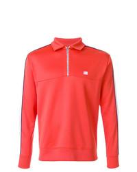 Jersey de cuello alto con cremallera rojo de AMI Alexandre Mattiussi