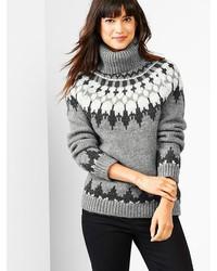 d2b4c0ca656aa Comprar un jersey de cuello alto de grecas alpinos gris  elegir ...