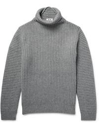 Jersey de cuello alto de lana gris de Acne Studios