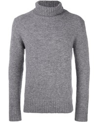 Jersey de cuello alto de lana gris de Closed