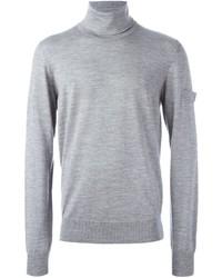 Jersey de cuello alto de lana gris de Oamc