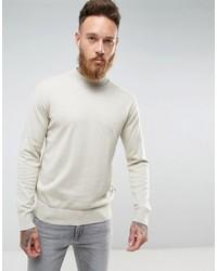 Jersey de cuello alto de punto en beige de French Connection