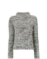 Jersey de cuello alto de punto gris de Uma Raquel Davidowicz